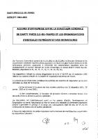Accord NAO 2002-2003