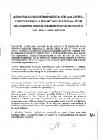 Accord NAO 2006-2007 – Avenant