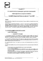 Avenant 1- Règlement intérieur – Harcèlement sexuel – 2005