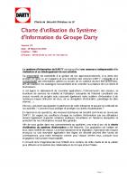 Charte Sécurité – 2011