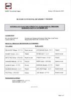 REPONSES DP ENCADREMENT MAGASINS – NOVEMBRE 2016