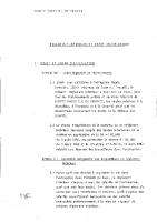 Règlement intérieur – Droit disciplinaire – 1983